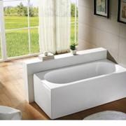 Ванну прямоугольную Bravat 150х75 с панелью фото