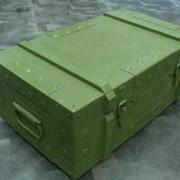 Армейская упаковка, ящик деревянный специальный фото