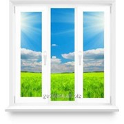 Окно из ПВХ 1700х1800 поворотно-откидное, две створки фото