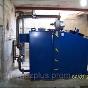 Монтаж отопления, монтаж оборудования котельной. фото