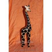 Сувенир Жираф деревянный фото