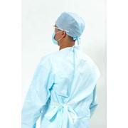 Халат хирургический одноразовый стерильный / (S, M, L, XL) / пл. 25-35 г/кв.м фото