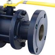 Кран стальной шаровой LD Ду 40 Ру 16 для газа с приводом, 11С67П фото