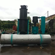 Газогенератор, газ из твёрдого топлива фото