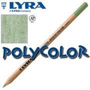 Высококачественные художественные карандаши Lyra Rembrandt Polycolor Коричнево-зеленый фото