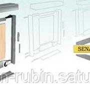 Сборка дверей система раздвижных дверей SENATOR фото