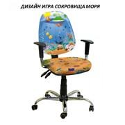 Кресло детское Бридж хром дизайн Игра Сокровища моря фото