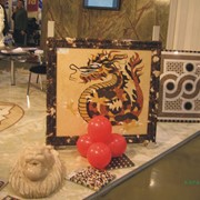 Изготовление витражных предметов (лампы, картины, мозаика, сувениры) из мрамора фото
