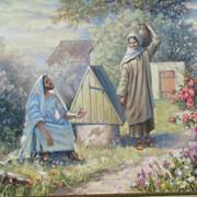 Авторские картины масляными красками фото