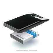 Усиленный аккумулятор (АКБ, батарея) для телефона Samsung Craftmann EB-F1A2GBU фото