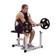 Профессиональный тренажер Body Solid Боди Солид GPCB-29 Скамья Скотта для тренировки бицепса фото