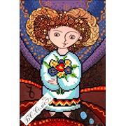 Канва с рисунком Козерог серия Украинский гороскоп БС Солес фото