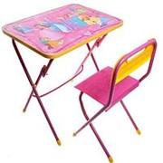 НИКА КПУ1 Комплект Никки (стол+стул пластиковый) КПУ1/17 маленькая принцесса фото
