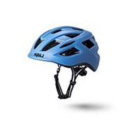 Шлем 02-50521136 URBAN/CITY/MTB с фонариком CENTRAL 19отв. матовый/ синий S/M(52-58см) KALI NEW фото