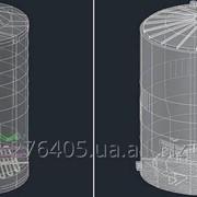 Построение сечений резервуаров с заданным шагом градуировочной таблицы фото