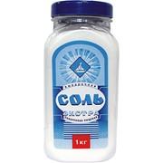 Соль экстра фасованная по 1 кг в п/э банку фото