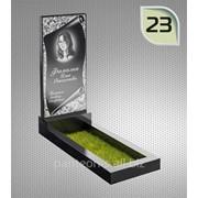 Надгробие вертикальное модель 23 фото