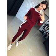 Женский спортивный костюм в расцветках. КМ-9-0918 фото