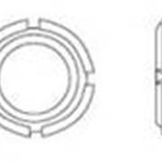Гайка круглые шлицевые, диаметр от М 6 до М 200 фото