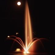 Плавающие фонтаны фото