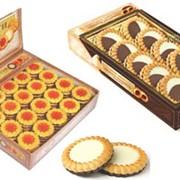 Мягкое печенье с логотипом фото