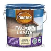 Эластичная лазурь для дерева 10 л Pinotex Facade Lasur фото