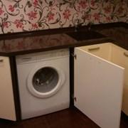 Установка стиральной, посудомоечной машины  фото