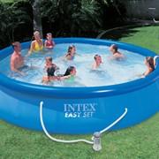 Бассейн надувной INTEX EASY SET 457х91 фото