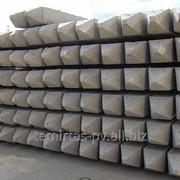 Сваи забивные железобетонные, квадратного сплошного сечения для унифицированных фундаментов ЛЭП напряжением 35-500 кВ марка С 35.8-1 фото