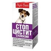 Стоп-цистит суспензия для собак 50 мл Api-San фото