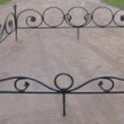 Кованые ограды фото