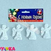 Фигура ангел акриловый льдинками 52-00166-41 фото