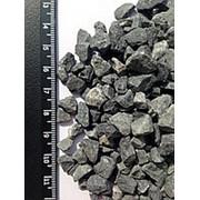Мраморный щебень, черный, фр. 5-10 мм, в мешках 50 кг фото