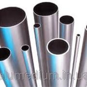 Труба алюминиевая круглая АД31Т5 85х5,0 / б.п. фото
