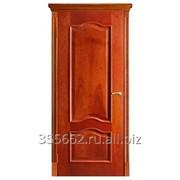 Межкомнатная дверь Классика (красное дерево) фото