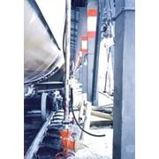 Установка стационарная верхнего слива железнодорожных цистерн УПВС-80С фото