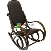 Кресло-качалка кож.заменитель (1807-1) фото