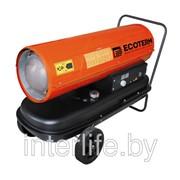 Нагреватель воздуха дизельный Ecoterm DHD-30W прямой, 30 кВт, 2 колеса (ECOTERM) фото