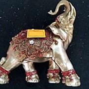 Сувенир Слон 2945 15х18 см. фото