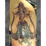 Реставрация старой татуировки фото
