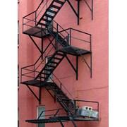 Испытание Маршевых Стационарных Наружных Лестниц фото