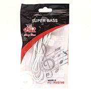 Внутриканальные наушники SuperBass HL-AUD796 White фото