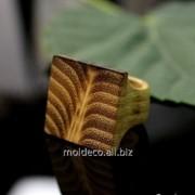 Бижутерия ручной работы Inel din lemn фото