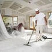 Уборка после строительных и ремонтных работ фото