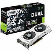 Видеокарта Asus PCI-E DUAL-GTX1060-O6G nVidia GeForce GTX 1060 6144Mb 192bit GDDR5 1594/8008 DVIx1/HDMIx2/DPx2/HDCP Ret фото