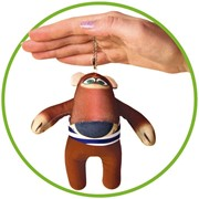 "Антистрессовая игрушка-брелок ""Медведь Балу"" фото"