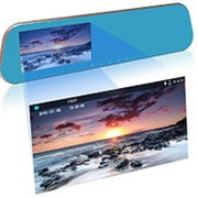 Зеркало заднего вида со встроенным видеорегистратором Car DVRs Mirror + ГАБАРИТЫ В ПОДАРОК фото