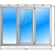 Окна пластиковые трехкамерные фото