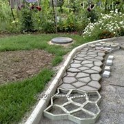 Создание садовых дорожек фото