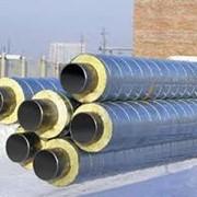 Теплоизоляция трубопроводов, металлических конструкций. фото